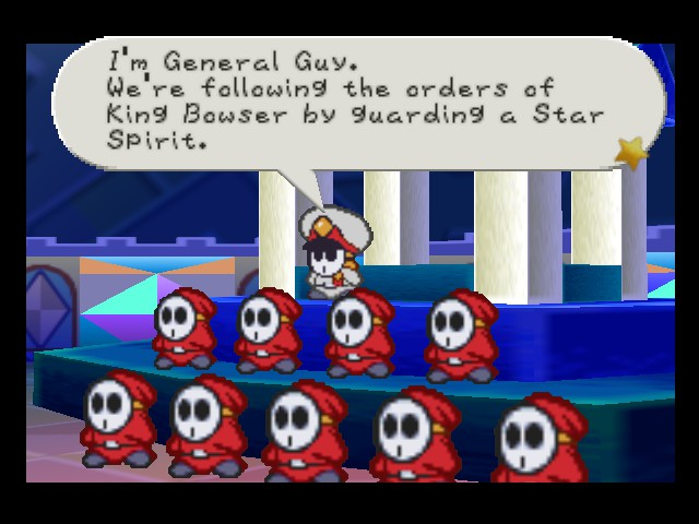 Paper Mario - army guy - User Screenshot